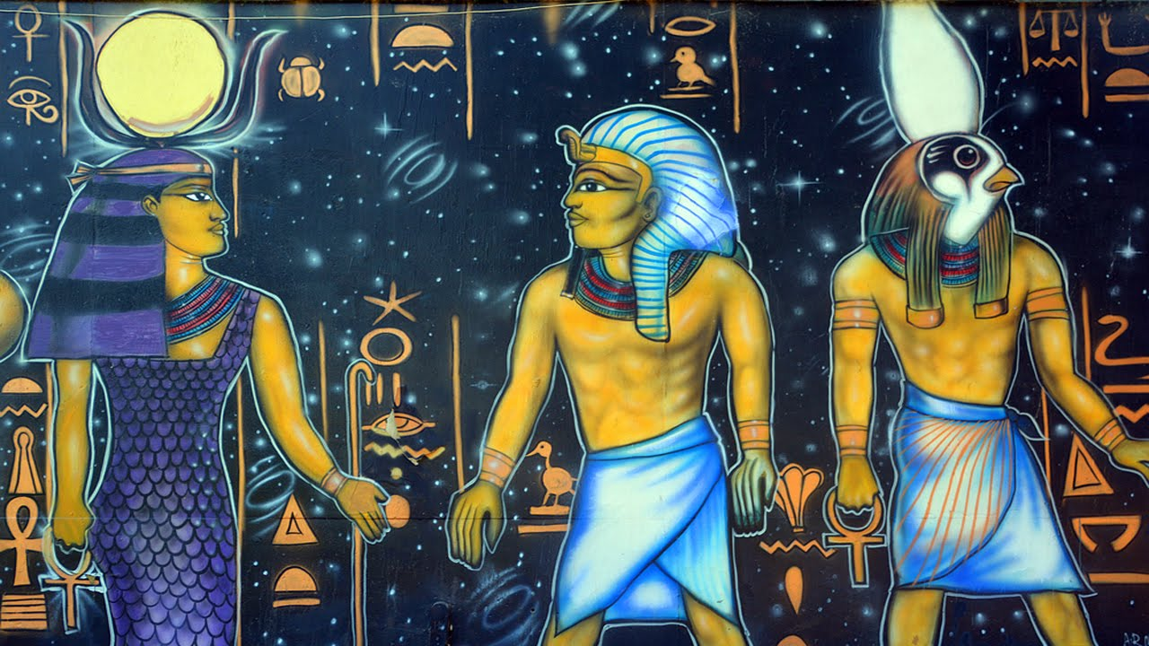 Which of the gods is ancient Egyptians for you?